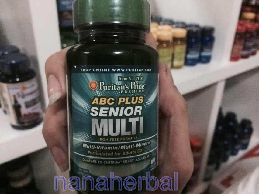 ABC Plus Senior Multi-Vitamin