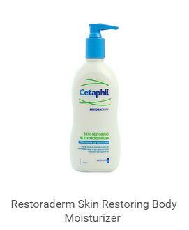 Cetaphil RestoraDerm® Body Moisturizer เซตาฟิล เรสโตราเดิร์ม สกิน เรสทอริ่ง บอดี้ มอยส์เจอไรเซอร์