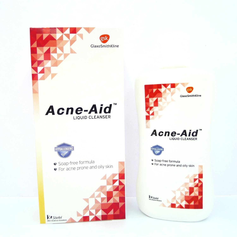 สบู่เหลว Acne-Aid liquid cleanser ขนาด 100 ml - (Acne Aid, AcneAid)
