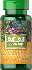 Puritan's Pride - ACAI Berry 1000 mg 60 Softgels