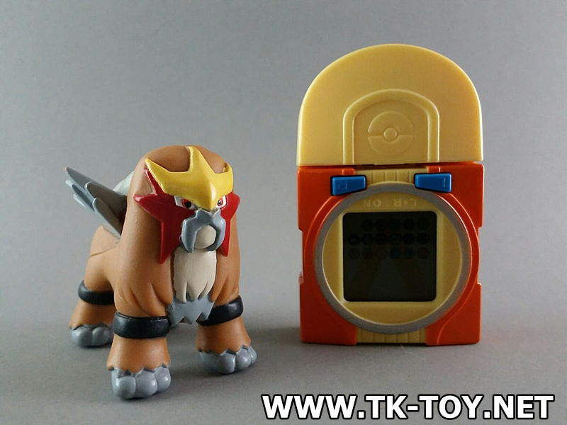 POCKET MONSTERS [Pokémon Battrio V] Battle Memory key ENTEI