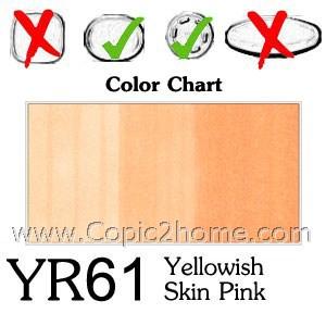 YR61 - Yellowish Skin Pink
