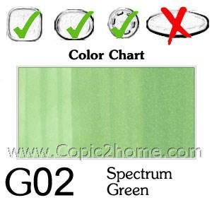 G02 - Spectrum Green