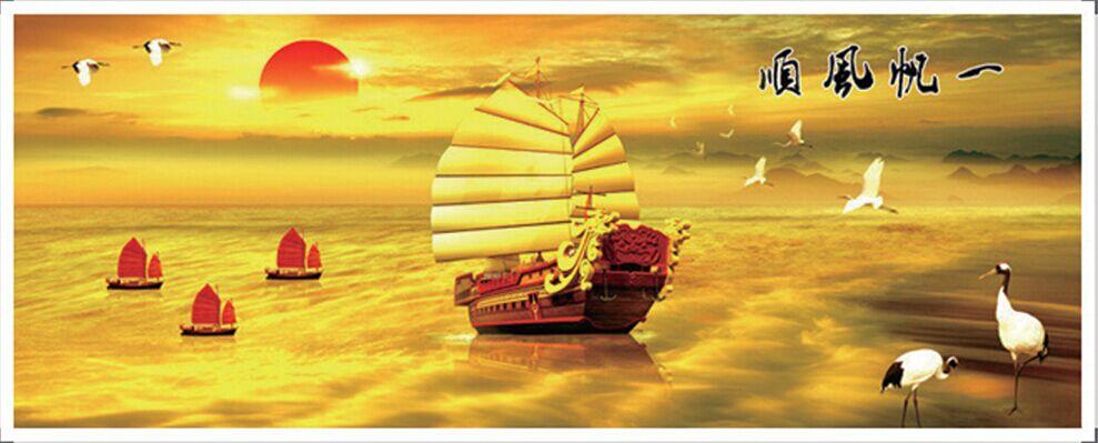 """1353 ภาพ diamond """"เรือสำเภาทะเลทอง"""""""
