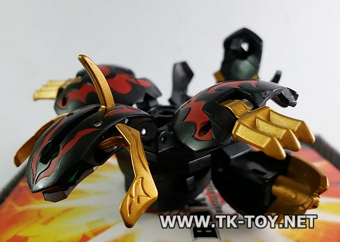 Sega Toys Bakutech Series Bakugan BTC-57 Tornado