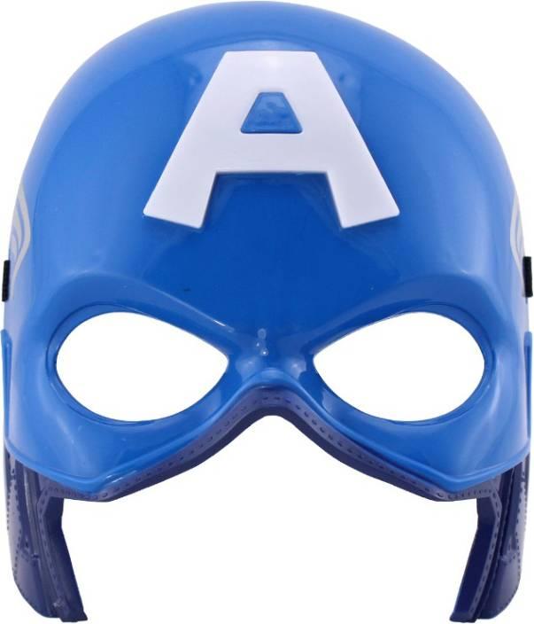 หน้ากากกัปตันอเมริกา รุ่นมีไฟ [Captain America MASK]