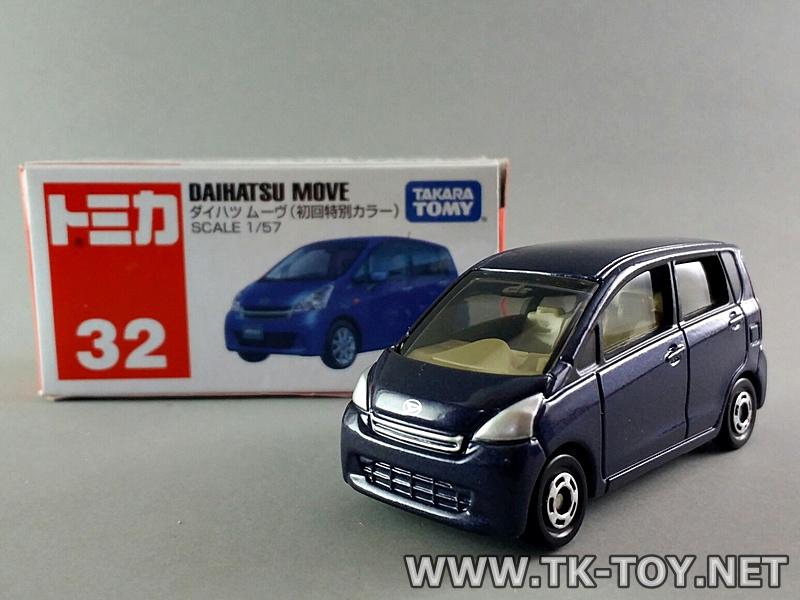 โมเดลรถยนต์ TOMICA DAIHATSU MOVE NO.32