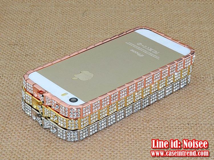 เคส iPhone5/5s - เคสเพชร BVLGARI