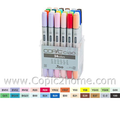 Ciao - 24 color set