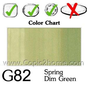 G82 - Spring Dim Green