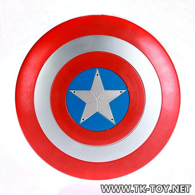 โล่ห์กัปตันอเมริกา (30 ซ.ม.)มีเสียง+มีไฟ(แดง) Captain America Shield [RED]