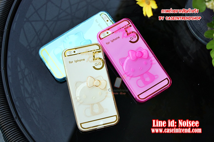 เคส iPhone 5/5s - TPU Kitty