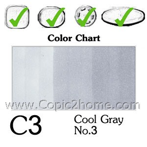 C3 - Cool Gray No.3