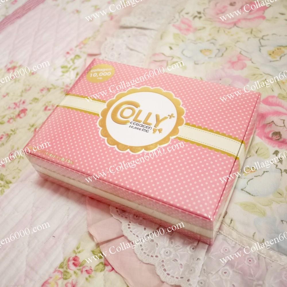 Colly Plus Collagen 10000mg (คอลลี่พลัส คอลลาเจน 10000 มิลลิกรัม) 1กล่อง (15ซอง/กล่อง)