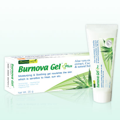 ฟาร์มาค็อกฟ์ เบอร์นโนว่า เจล พลัส - Pharmacok'f Burnova gel plus 25g