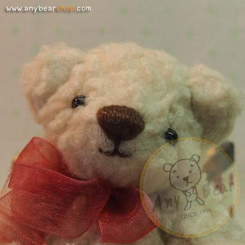 ตุ๊กตาหมีผ้าขนแกะขนาด 13 cm. - Bess