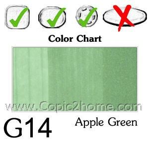 G14 - Apple Green
