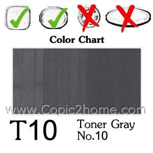 T10 - Toner Gray No.10