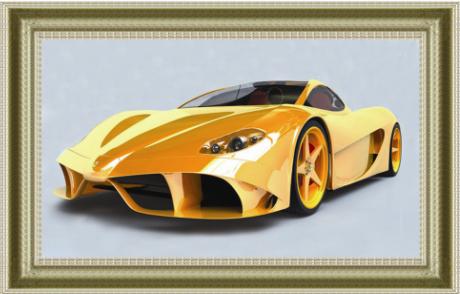 """1160 ภาพ diamond """"รถสปอร์ตเหลืองคันแรง"""""""