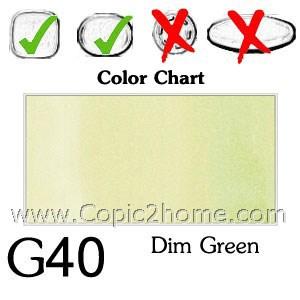 G40 - Dim Green