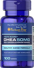 Puritan's Pride - DHEA 50 mg 100 Capsules