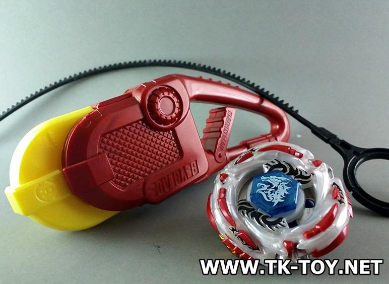 TAKARA TOMY BEYBLADE Meteo L-Drago LW105LF - Karabiner Grip [RED]