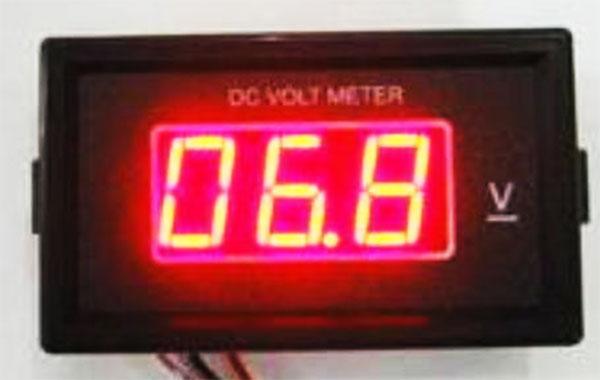 Volt Meter Digital DC 50V