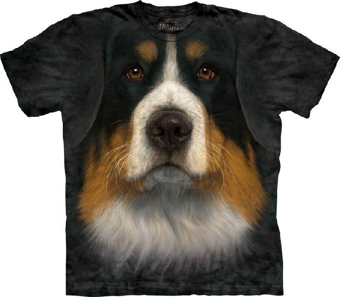 Big-Face Bernese Mountain Dog-T-Shirts