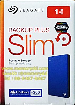 "Seagate Backup Plus Slim 1TB 2.5"" (Blue) USB3.0 (STDR1000302)"