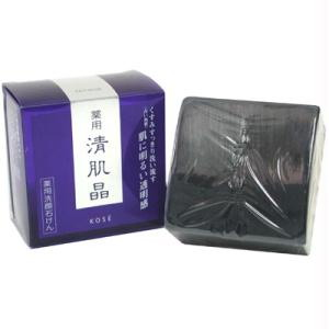 เครื่องสำอาง พร้อมส่ง KOSE SEIKISHO Facial Soap สบู่ดำ120 กรัม แบบรีฟิว