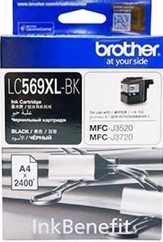 BROTHER INK CARTRIDGE LC-569XLBK สีดำ