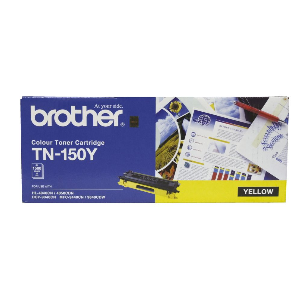 BROTHER TONER TN-150Y สีเหลือง