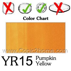 YR15 - Pumpkin Yellow