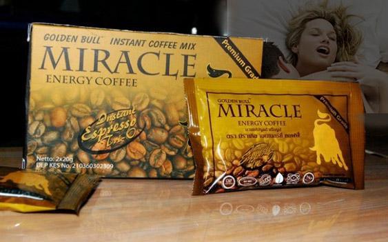 กาแฟกระทิงทอง Miracle Energy Coffee