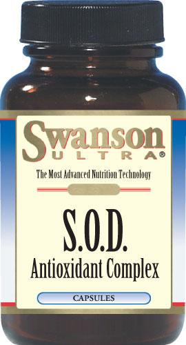 Swanson Ultra S.O.D. Antioxidant Complex