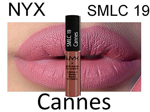 NYX SOFT MATTE LIP CREAM #SMLC19 CANNES