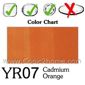 YR07 - Cadmium Orange