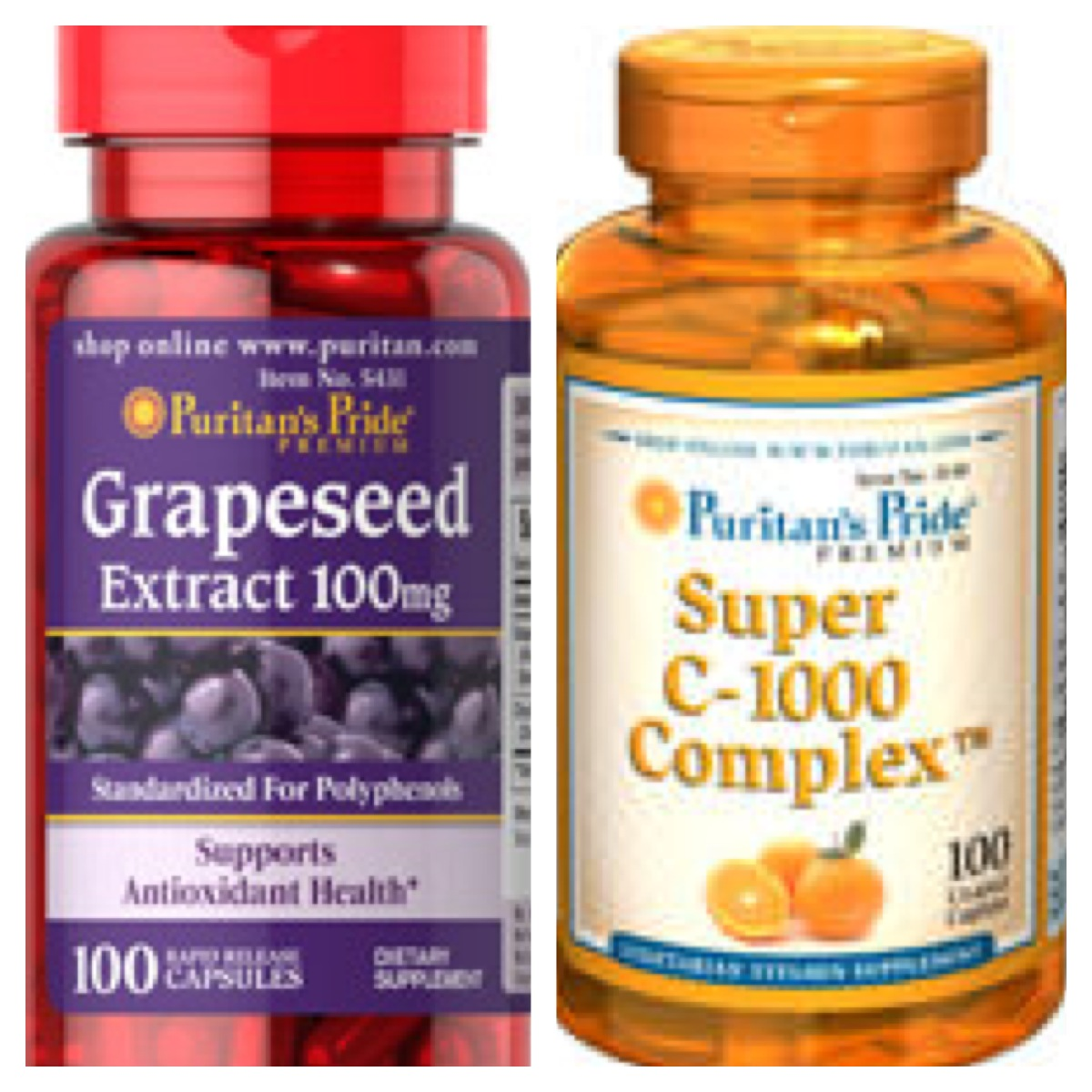 Super Vitamin C & Grapeseed Extract