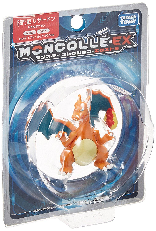 (โมเดลโปเกม่อน) Takara Tomy Pokemon Monster Collection EX Moncolle Charizard Action Figure