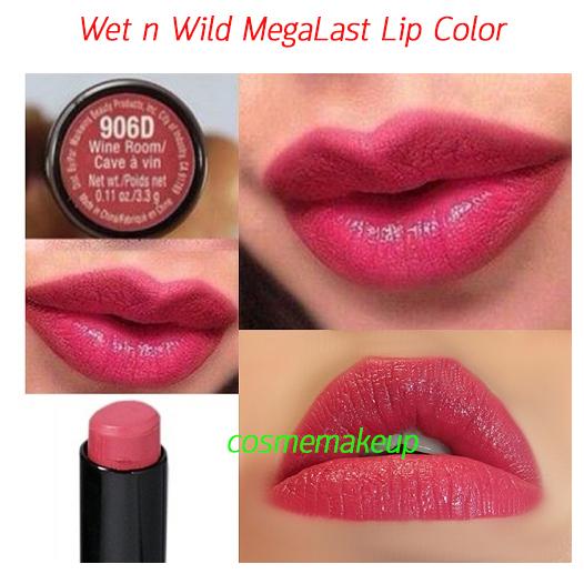 ขายของแท้เท่านั้น Wet n Wild Mega Last Lip Color 3.3 g #สี 906D Wine Room สีชมพูตุ่น ดูอบอุ่น
