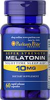 Puritan's Pride - Melatonin 10 mg 60 Capsules