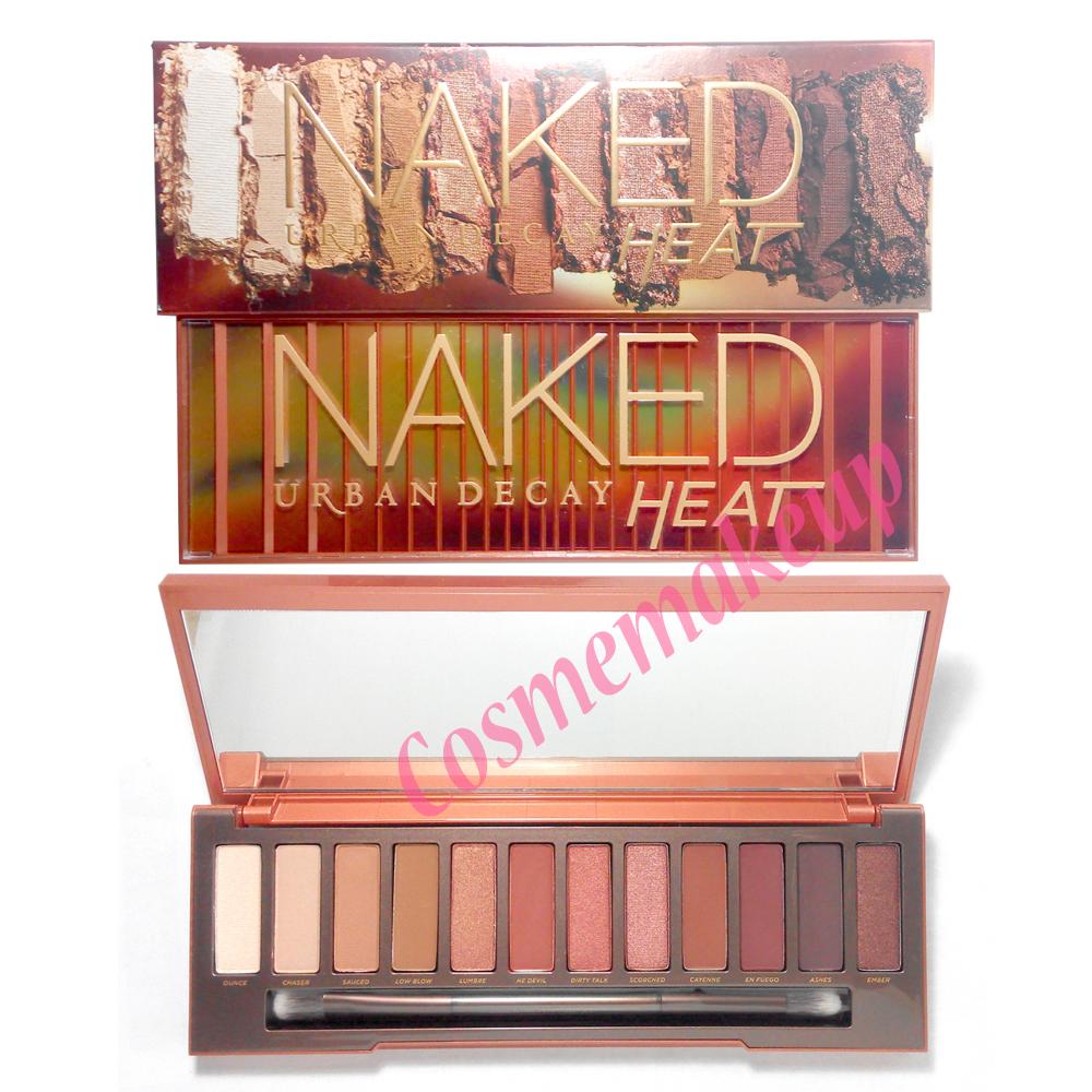 ส่งฟรี * URBAN DECAY Naked Heat Palette ของแท้ อายแชโดว์ตกแต่งดวงตา เนื้อแมทและชิมเมอร์