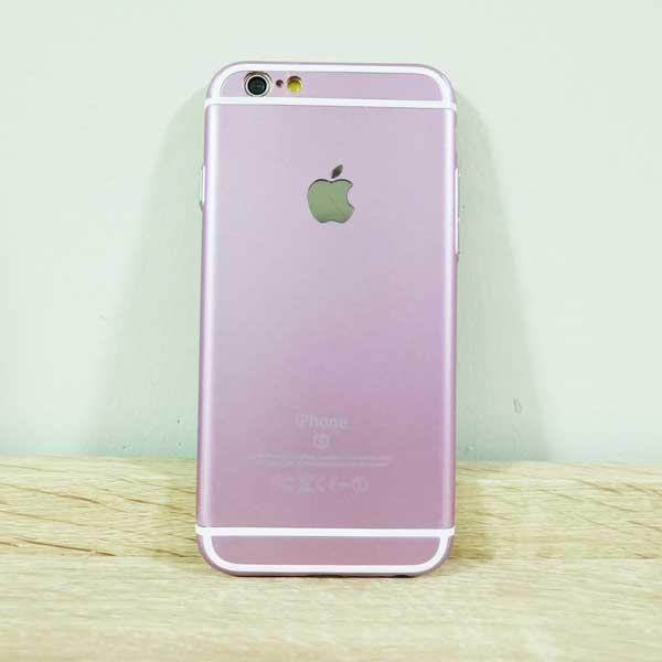 เคสไอโฟน 6/6S 6s สีชมพู