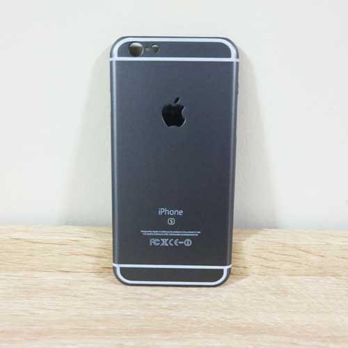 เคสไอโฟน 6 Plus/6S Plus ลายไอโฟน 6S สีดำ