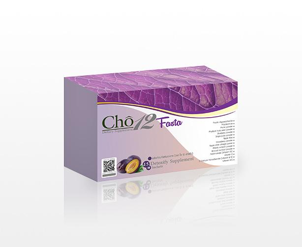 CHO12 Fasta (ฟาสต้า) Detox ล้างสารพิษในลำไส้