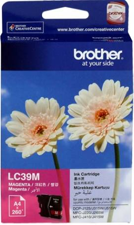 BROTHER INK CARTRIDGE LC-39M สีแดง