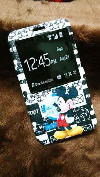 Flip case NOTE 3 Disney