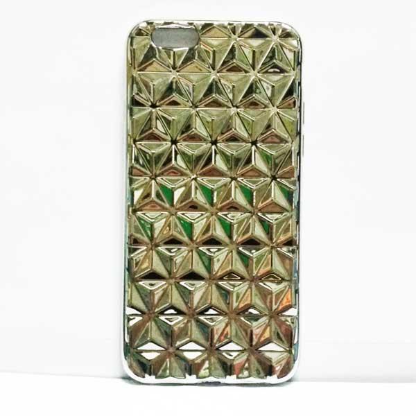 เคสไอโฟน 5/5s เคส3มิติเงิน