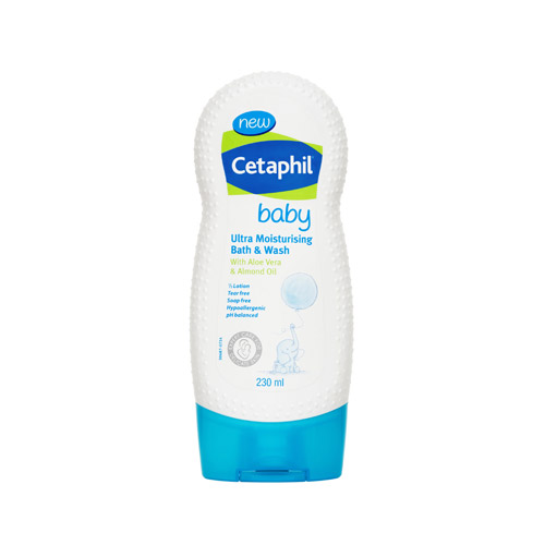 Cetaphil Baby Ultra Moisturizing Bath & Wash 230มล