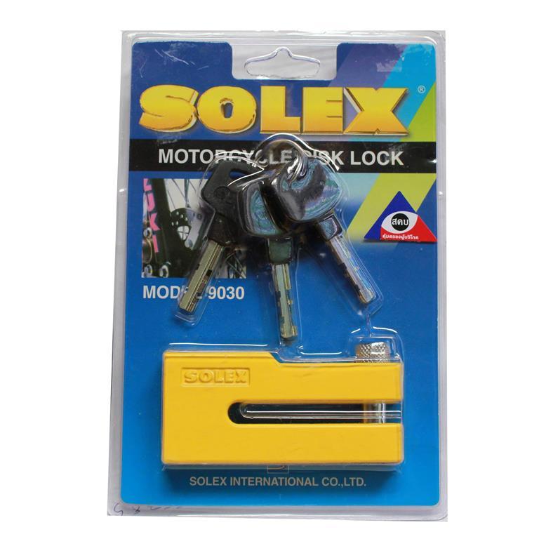 ล็อคดิสเบรค SOLEX รุ่น 9030 สีเหลือง